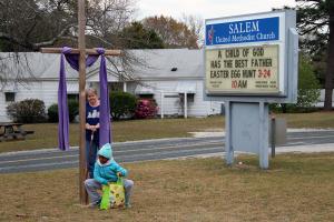 Salem UMC Easter Egg Hunt